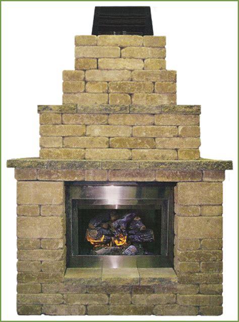 pavestone outdoor fireplace new