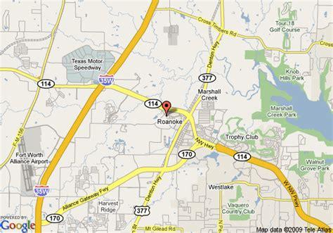 roanoke texas map comfort suites roanoke map