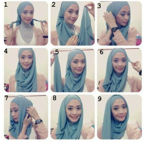 tutorial hijab  ayu aryuli women moeslem
