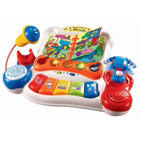Vtech Sing And Discover Piano 6m Mainan Vtech T3010 2 vtech sing and discover piano toys zavvi