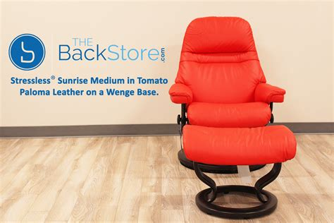 Colorful Recliner Chairs Stressless Tomato Leather By Ekornes Stressless