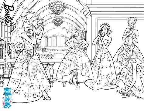 Princesses And Fairies Coloring Pages Hellokids Com Coloring Pages Princess Charm School