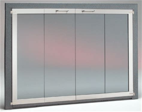 gasketed fireplace doors air tight or glass fireplace