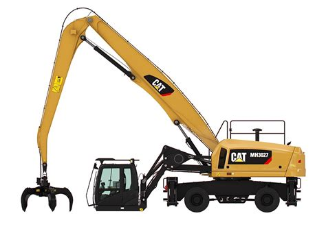 new mh3027 wheel material handler for sale whayne cat
