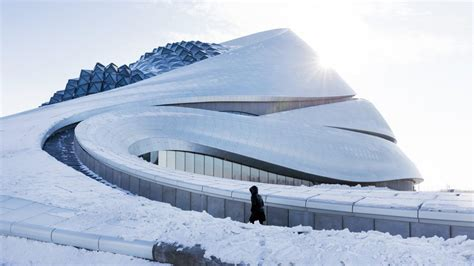 harbin opera house exclusive see new photos of mad architects harbin opera house
