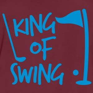 swing king ball funny polo shirts spreadshirt