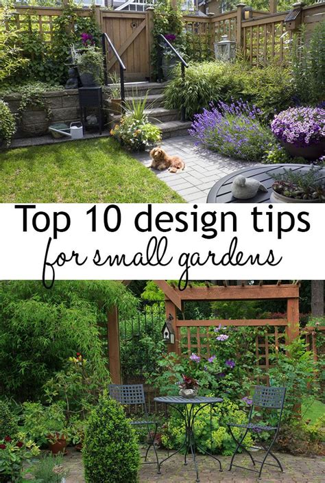 ideas for small garden spaces best 20 small garden design ideas on