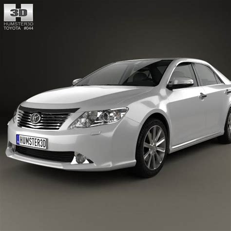 Toyota Camry 2012 Model Pictures Toyota Camry Eu Aurion 2012 3d Model Hum3d