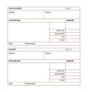 hotel request for template receipt template doc for word documents in different types
