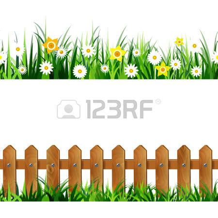 fence clipart flower gardening pencil and in color fence