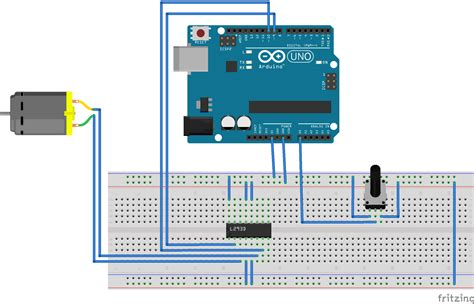 arduino code to control motor dc motor potentiometer wiring diagram how to wire a