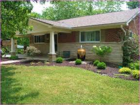 front yard landscape ideas for ranch style house home