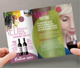 wine brochure template 16 wine brochure templates free psd ai vector eps