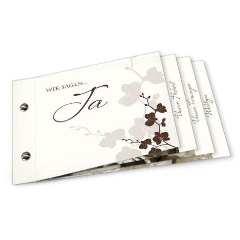 Hochzeitseinladung Booklet by Booklet Theresa Und Gilbert Cari 241 Okarten