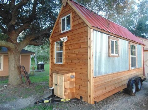 195 sq ft tiny home on wheels for sale