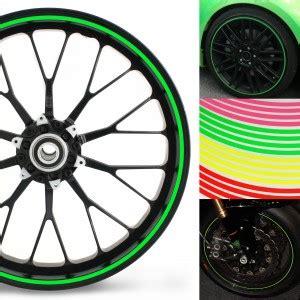 Felgenaufkleber Motorrad Anbringen by Neon Felgenrandaufkleber