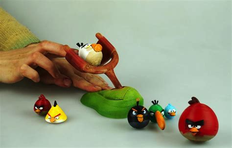 12pc Angry Birds Figure Small Angry Bird Angrybird Burung Kecil tabletop angry birds who needs a smartphone when you can