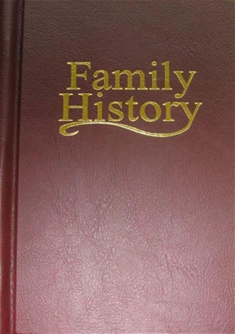 Family Records Family History Books Family Trees Familytree