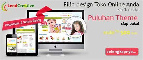 jasa pembuatan website pembuatan toko online jasa pembuatan toko online murah professional siap pakai