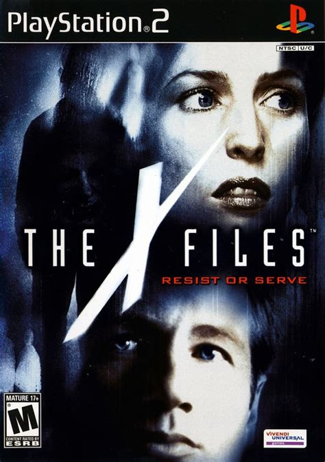 file game ps2 format iso x files resist or serve sony playstation 2 game