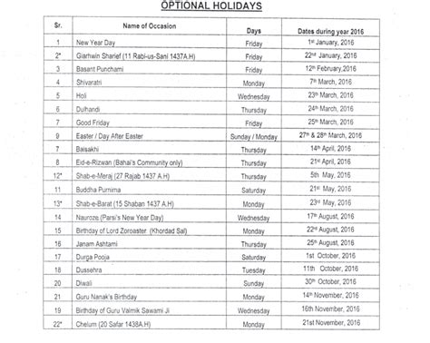 public holidays 2016 with calendar government gazetted public holidays 2016 with calendar government gazetted