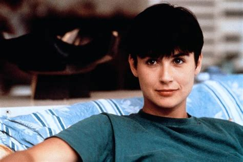 demi moore haircut in ghost demi moore top boy and oversized shirt on pinterest