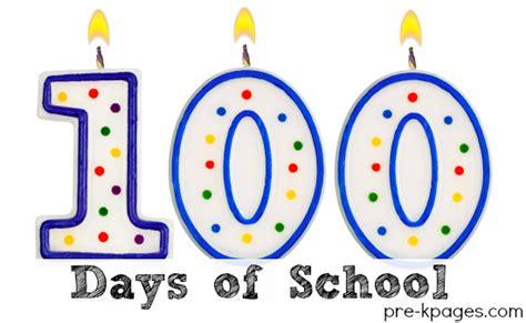 100 days of school 100th day preschool kindergarten 100th day