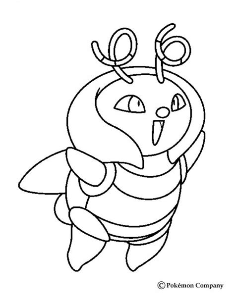 pokemon coloring pages taillow desenhos para colorir de pok 233 mon volbeat pt hellokids com