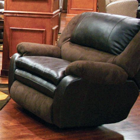 Leather Cuddler Recliner by Catnapper Trevor Cuddler Recliner Godiva Chestnut 4790 4