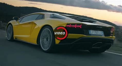 New Lamborghini Aventador New Lamborghini Aventador S Shows Its Versatility And