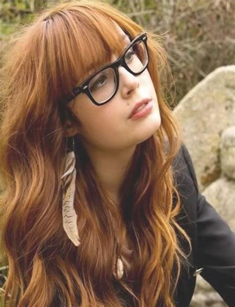 hairstyles bangs and glasses 100 cute inspiration hairstyles with bangs for long round