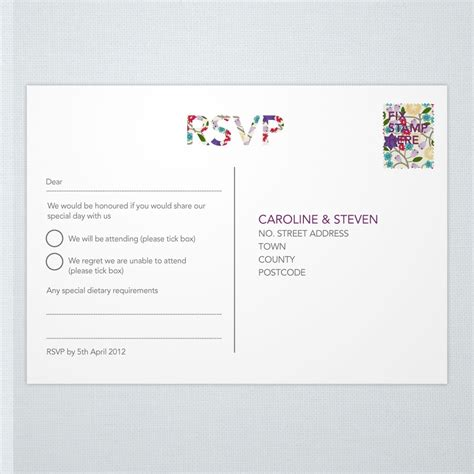 Wedding Invitation No Rsvp by Typeset Modern Rsvp Ink Curls