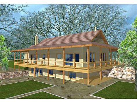 ridley woods rustic home plan   house plans