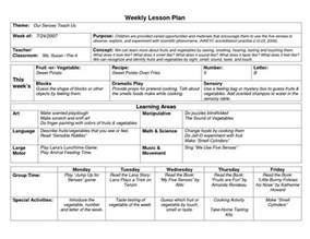curriculum unit plan template naeyc lesson plan template for preschool sle weekly