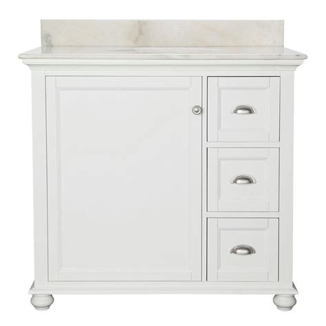 home decorators vanity home decorators collection lort 37 in w x 22 in d bath
