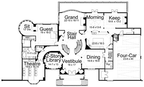 english country home plans magnificent english country home plan 12030jl 2nd