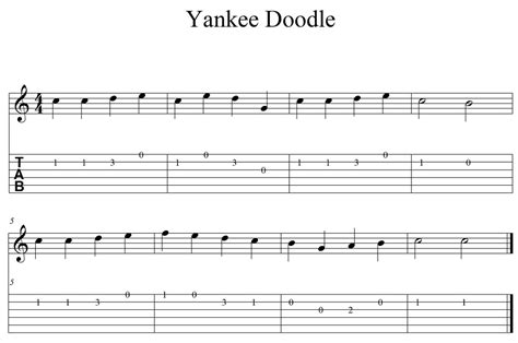yankee doodle farm indiana 5 canciones f 225 ciles para guitarra
