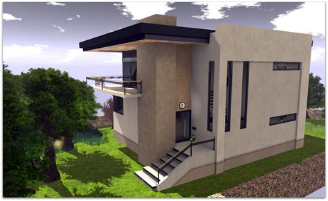 concrete modern house simple plans small modern concrete
