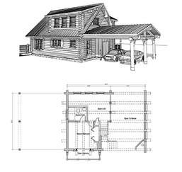 Log Home Floor Plans With Loft by Log Cabin Floor Plans With Loft