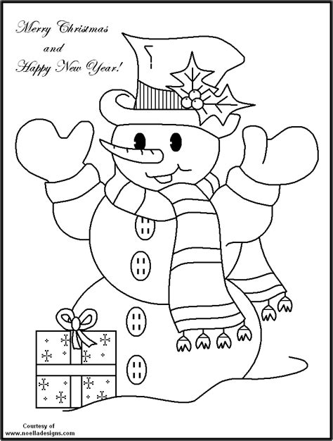 Free Coloring Pages Of Snowman Printable Snowman Coloring Pages