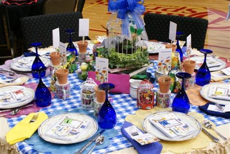 table decorations for church luncheon luncheon stage and table decoration ideas