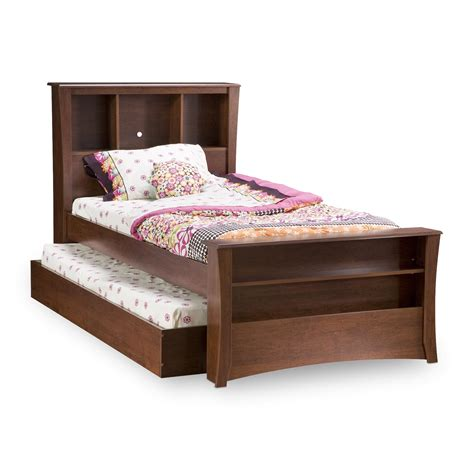 beds twin south shore jumper twin bed w trundle by oj commerce 3268ttr 690 99