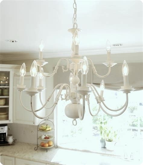 Brassy To Classy My Free Chandelier Painting Brass Chandelier