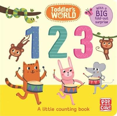 Counting Board Book 123 a counting board book by pat a cake buy books