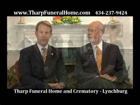 tharp funeral home commercial