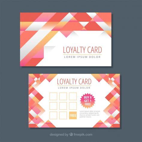 Free Loyalty Card Template Psd by Barcode векторы фото и Psd файлы скачать