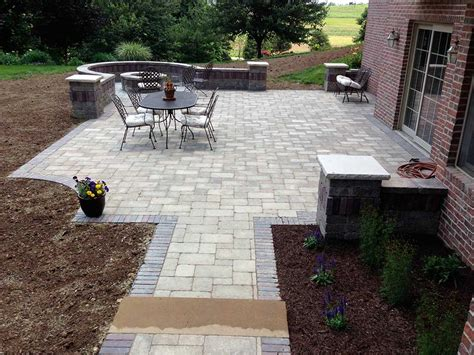 Patio Paver Contractors Patio Design Pittsburgh Paver Patio Installation Contractors
