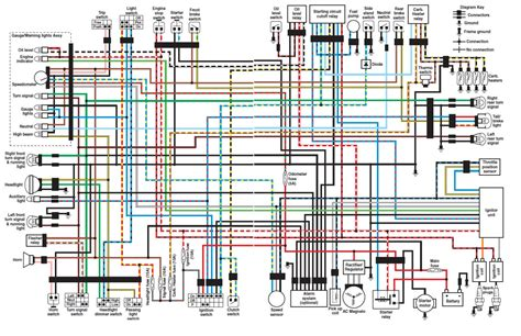 wiring diagram yamaha v custom