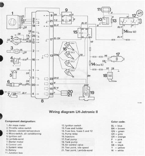 volvo 240 fuel relay wiring diagram 40 wiring