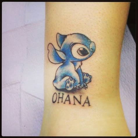 lilo and stitch tattoo stitch this ohana piercings tatuajes